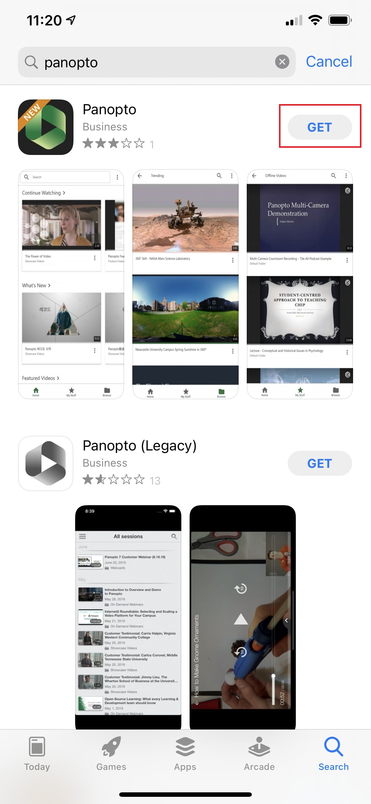 Download The Panopto App