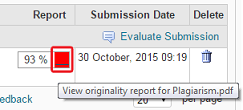 Coloured box enables report to be viewed