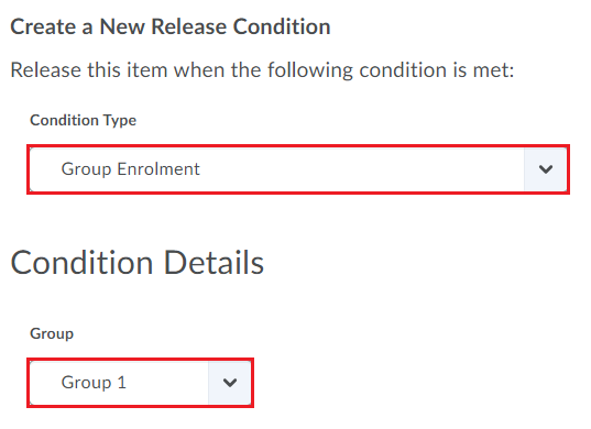 10 release conditions
