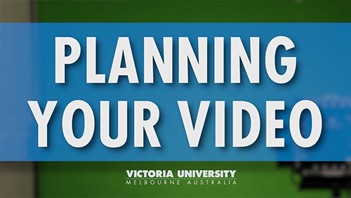Showcase Planning Your Video