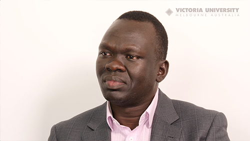 Showcase African Youth Crime Interview with Richard Deng